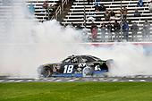 #18: Kyle Busch, Joe Gibbs Racing, Toyota Supra iK9 wins