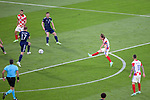 22.06.2021 Croatia v Scotland: Luka Modric shoots to put Croatia 2-1 ahead