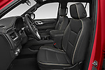 Front seat view of 2021 GMC Yukon SLT 5 Door SUV Front Seat  car photos