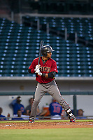 AZL Diamondbacks designated hitter Luis Tejeda (22) at bat against the AZL Cubs on August 11, 2017 at Sloan Park in Mesa, Arizona. AZL Cubs defeated the AZL Diamondbacks 7-3. (Zachary Lucy/Four Seam Images)
