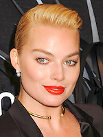 NEW YORK CITY, NY, USA - NOVEMBER 20: Margot Robbie arrives at the Hugo Boss Prize 2014 held at the Guggenheim Museum on November 20, 2014 in New York City, New York, United States. (Photo by Celebrity Monitor)