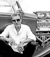 JOHNNY HALLYDAY<br /> <br /> L.A<br /> 2008<br /> © CORLOUER/ DALLE<br />  ---<br /> exclusif