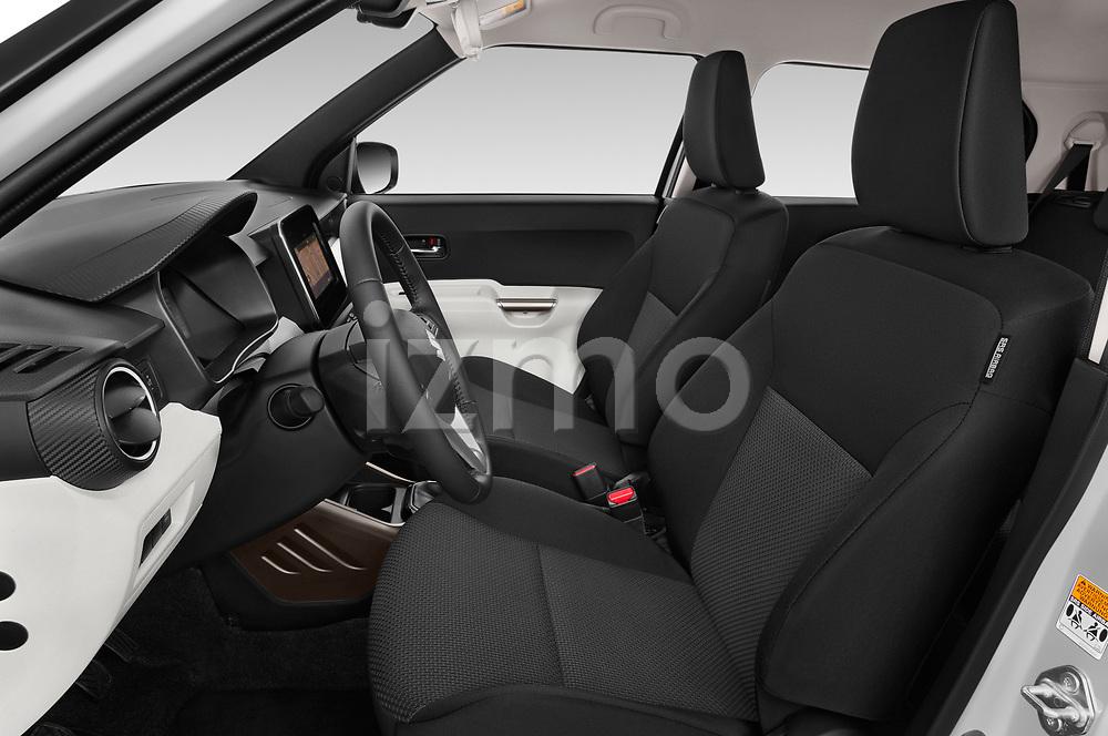 Front seat view of a 2018 Suzuki Ignis GLX 5 Door Hatchback front seat car photos