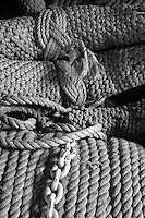 Ropes at the Shipreck Museum, Warrnambool