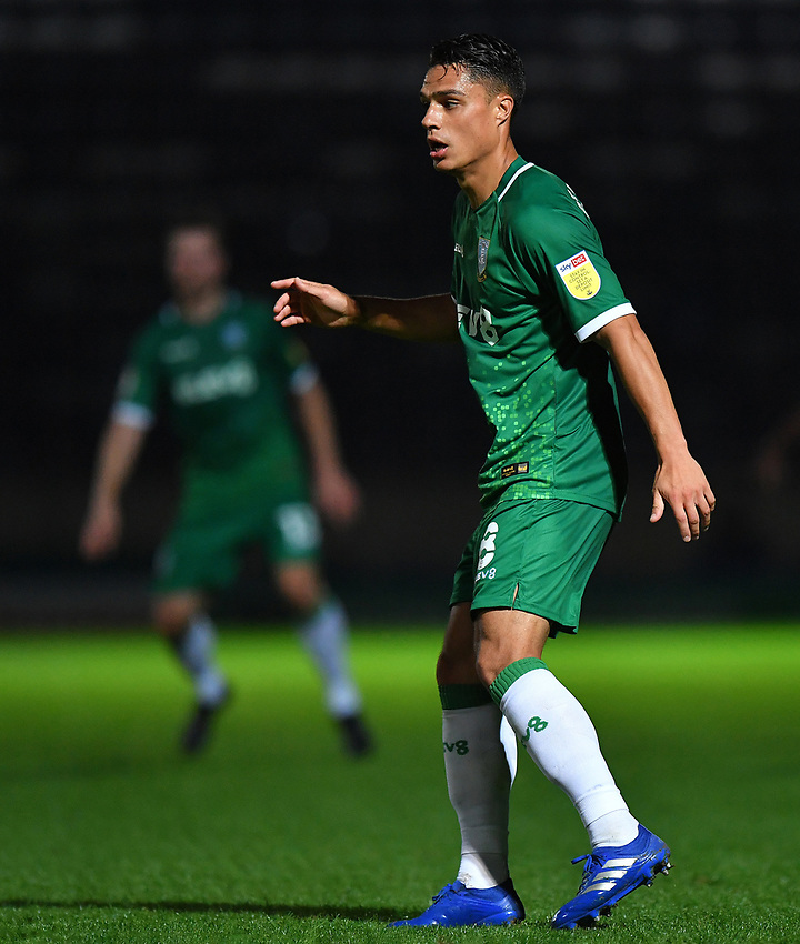 Sheffield Wednesday's Joey Pelupessy<br /> <br /> Photographer Dave Howarth/CameraSport<br /> <br /> Carabao Cup Second Round Northern Section - Rochdale v Sheffield Wednesday - Tuesday 15th September 2020 - Spotland Stadium - Rochdale<br />  <br /> World Copyright © 2020 CameraSport. All rights reserved. 43 Linden Ave. Countesthorpe. Leicester. England. LE8 5PG - Tel: +44 (0) 116 277 4147 - admin@camerasport.com - www.camerasport.com