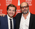 "Michael Gandolfini and Chris Bauer attends the Atlantic Theater Company ""Divas' Choice"" Gala at the Plaza Hotel on March 4, 2019 in New York City."