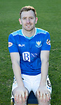 St Johnstone FC Photocall….2018/19 Season<br />Liam Craig<br />Picture by Graeme Hart.<br />Copyright Perthshire Picture Agency<br />Tel: 01738 623350  Mobile: 07990 594431
