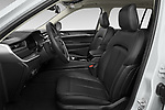 Front seat view of 2021 JEEP Grand-Cherokee-L Limited 5 Door SUV Front Seat  car photos
