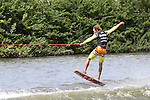 September 12, 2014:  Scenes from the WWA Wakeboard World Championships at Mills Pond Park in Fort Lauderdale, FL.  Amateur Wakeskate. Togawa Reona JPN finishes 3rd in the event.  Liz Lamont/ESW/CSM