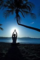 Yoga Silhouette<br /> St Croix, US Virgin Islands