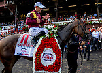 SARATOGA SPRINGS, NY - AUGUST 25: on Travers Stakes Day at Saratoga Race Course on August 25, 2018 in Saratoga Springs, New York. (Photo by Sue Kawczynski/Eclipse Sportswire/Getty Images)