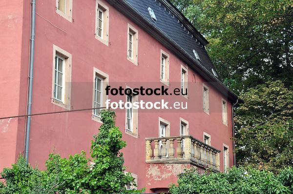 Rotes Schloss in Erbes-Büdesheim aus dem Jahr 1370