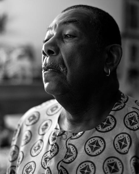 September 21, 2009. Durham, North Carolina.. Portraits of long time Durham choreographer, Chuck Davis.