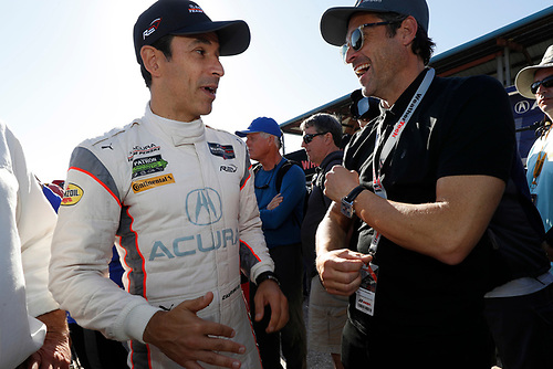 Patrick Dempsey, #7 Acura Team Penske Acura DPi, P: Helio Castroneves,