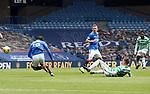 02.05.2121 Rangers v Celtic: Callum McGregor sent off for tackle on Glen Kamara