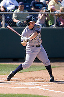 July 18, 2010: Eugene Emeralds third baseman Jedd Gyorko (#3) at-bat during a Northwest League game against the Everett AquaSox at Everett Memorial Stadium in Everett, Washington.