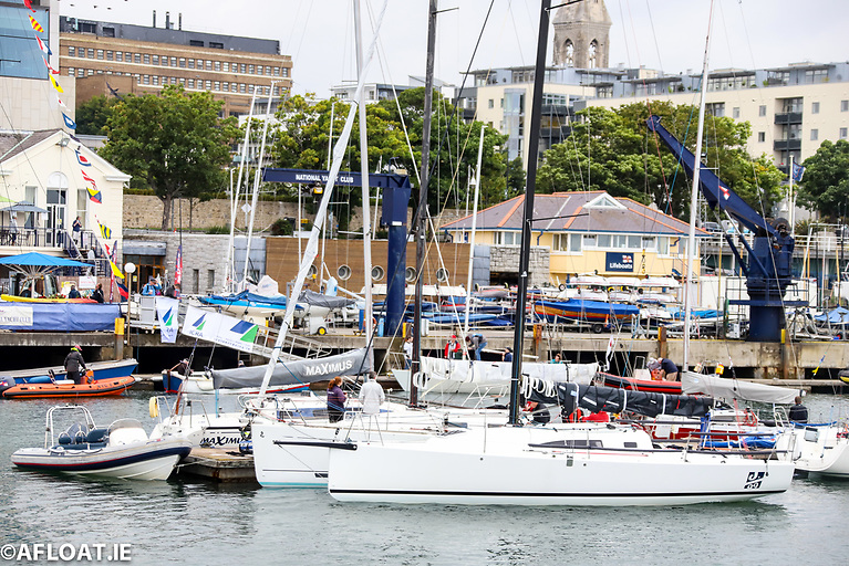 The National Yacht Club at Dun Laoghaire Harbour successfully staged the 2021 championships