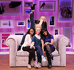 """Megan Sikora, Carla Duren, Lindsay Nicole Chambers and Sharon Catherine Brown attends the """"Chick Flick The Musical"""" Presentation at The Westside Theater on February 15, 2019 in New York City."""