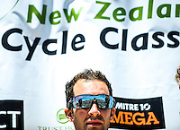 Tour champion Joe Cooper after stage five of the NZ Cycle Classic UCI Oceania Tour in Masterton, New Zealand on Tuesday, 26 January 2017. Photo: Dave Lintott / lintottphoto.co.nz