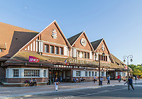 France, Calvados (14), Deauville, la gare de Trouville Deauville // France, Calvados, Deauville, the train station of Trouville Deauville