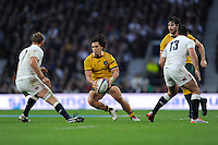 Matt Toomua of Australia during the QBE International match between England and Australia at Twickenham Stadium on Saturday 29th November 2014 (Photo by Rob Munro)