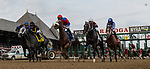 August 07, 2021: The start for $1 million Whitney Stakes (Grade 1) at Saratoga Race Course in Saratoga Springs, N.Y. on August 7, 2021. Rob Simmons/Eclipse Sportswire/CSM