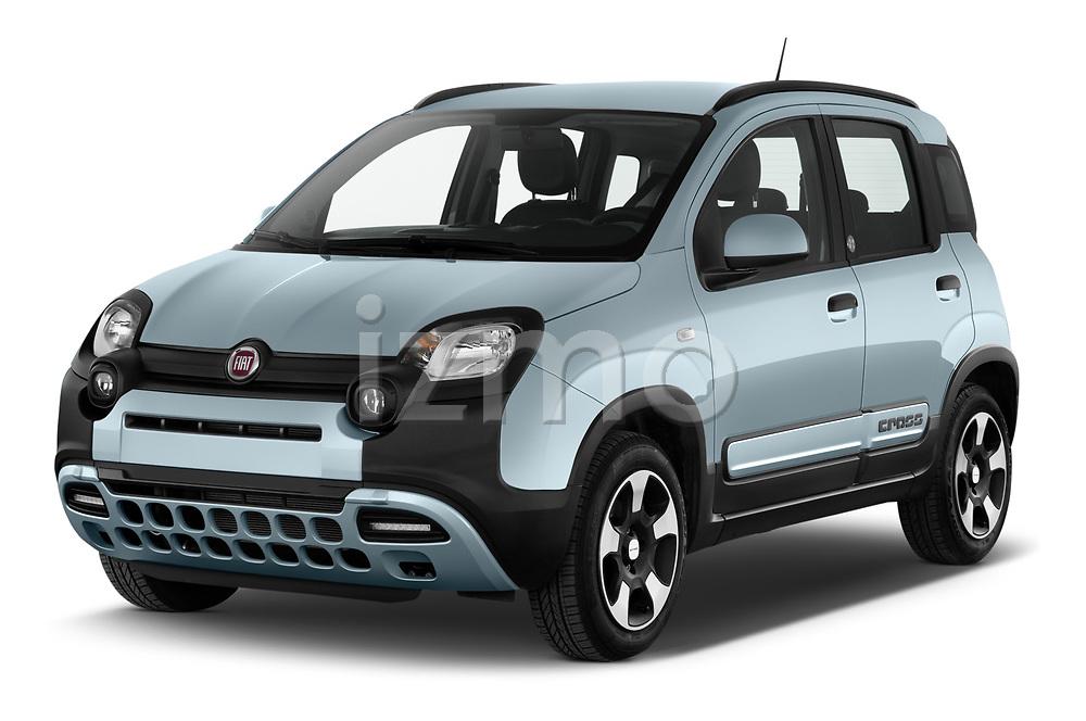 2020 Fiat Panda-Cross Launch-Edition 5 Door Hatchback Angular Front automotive stock photos of front three quarter view