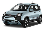 2020 Fiat Panda-Cross Launch-Edition 5 Door Hatchback Angular Front automotive stock photos of front three quarter view