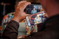 CHRISTIANE TAUBIRA AU FESTIVAL LA BIBLIOTHEQUE PARLANTE A LA BNF (BIBLIOTHEQUE NATIONALE DE FRANCE) SITE FRANCOIS MITTERRAND A PARIS LE 20 MAI 2017