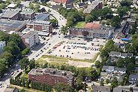 Deutschland, Schleswig-Holstein, Glinde, Stadtansicht, Moellner Landstrasse, Schroedersweg, Parkplatz