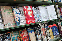 Cuba, Havana.  Used Books, Plaza de Armas.  Che Guevara.