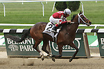 June 28, 2014: Untapable with John Velazquez win the 58th running of the Grade I Mother Goose Stakes for 3-year old fillies, going 1 1/8 mile at Belmont Park. Trainer: Steve Asmussen. Owner: Ron Winchell. Sue Kawczynski/ESW/CSM