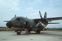 - Italian Air Force, tactical cargo plane G 222....- Aeronautica Militare Italiana, aereo da trasporto tattico G 222