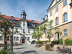 Germany, Thuringia, Ilmenau: Goethe-City-Museum and City Hall | Deutschland, Thueringen, Goethe- und Universitaetsstadt Ilmenau: Goethe-Stadt-Museum und Rathaus