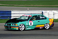 Round 1 of the 1992 British Touring Car Championship. #8 Tim Harvey (GBR). M Team Shell Racing with Listerine. BMW 318is Coupe.