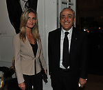 FRANCESCO GAETANO CALTAGIRONE CON LA COMPAGNA MALVINA<br /> PREMIO GUIDO CARLI - QUARTA EDIZIONE<br /> RICEVIMENTO HOTEL MAJESTIC ROMA 2013