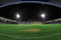 General view of the ground ahead of the kick-off during Southend United vs Burton Albion, Sky Bet League 1 Football at Roots Hall, Southend-on-Sea