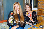 Enjoying the evening in Sean Og's on Thursday, l to r: Victoria Walsh and Emma Doherty.