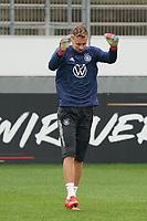 Torwart/Goalie Bernd Leno (Deutschland Germany) - Stuttgart 31.08.2021: Training der Deutschen Nationalmannschaft, Gazi Stadion Stuttgart