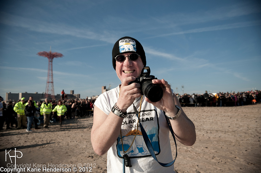 New York City's Polar Bear Club, Sunday January 1, 2012.  Photo by, Karie Henderson © 2012.