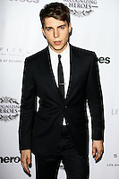 LOS ANGELES, CA, USA - NOVEMBER 08: Nolan Gerard Funk arrives at the Unlikely Heroes' 3rd Annual Awards Dinner And Gala held at the Sofitel Hotel on November 8, 2014 in Los Angeles, California, United States. (Photo by Celebrity Monitor)