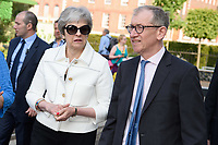 Theresa May<br /> at the Chelsea Flower Show 2018, London<br /> <br /> ©Ash Knotek  D3402  21/05/2018
