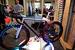 Bespoked 2018 UK handmade bicycle show held at Brunel's Old Station & Engine Shed, Bristol, England. 21st April 2018.<br /> Picture: Eoin Clarke | Cyclefile<br /> <br /> <br /> All photos usage must carry mandatory copyright credit (© Cyclefile | Eoin Clarke)