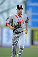 Greenville Drive outfielder Drew Turocy #22 during a game against the Lexington Legends on April 18, 2013 at Whitaker Bank Ballpark in Lexington, Kentucky.  Lexington defeated Greenville 12-3.  (Mike Janes/Four Seam Images)