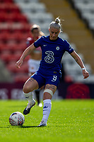 6th September 2020; Leigh Sports Village, Lancashire, England; Women's English Super League, Manchester United Women versus Chelsea Women; Bethany England of Chelsea Women