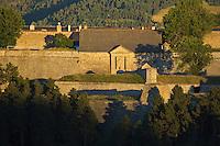 Europe/France/Languedoc-Roussillon/66/Pyrénées-Orientales/Cerdagne/Mont-Louis: La Citadelle Vauban inscrite au patrimoine mondial de l'humanité