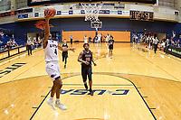 SAN ANTONIO, TX - DECEMBER 8, 2018: The University of Texas at San Antonio Roadrunners defeat the Mid-America Christian University Evangels 104-74 at the UTSA Convocation Center. (Photo by Jeff Huehn)