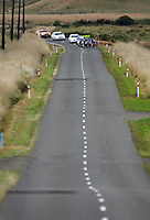 The Pelton comes down the final Valley Rd straight during the NZCT Women's Cycle Tour of New Zealand Stage 4 at Palmerston North, New Zealand on Saturday, 25 February 2012. Photo: Dave Lintott / lintottphoto.co.nz