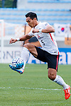 Urawa Reds Defender Makino Tomoaki in action during the AFC Champions League 2017 Round of 16 match between Jeju United FC (KOR) vs Urawa Red Diamonds (JPN) at the Jeju Sports Complex on 24 May 2017 in Jeju, South Korea. Photo by Yu Chun Christopher Wong / Power Sport Images