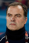 28.06.2010, Ellis Park Stadium, Johannesburg, RSA, FIFA WM 2010, Brazil (BRA) vs Chile. (CHI), im Bild Head coach of Chile Marcelo Bielsa (ARG)  during the 2010 FIFA World Cup South Africa. EXPA Pictures © 2010, PhotoCredit: EXPA/ Sportida/ Vid Ponikvar +++ Slovenia OUT +++